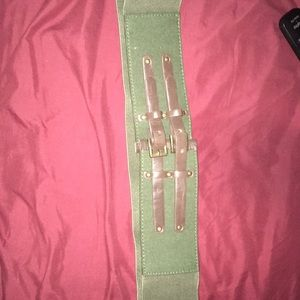 Accessories - Gorgeous Army Green Belt
